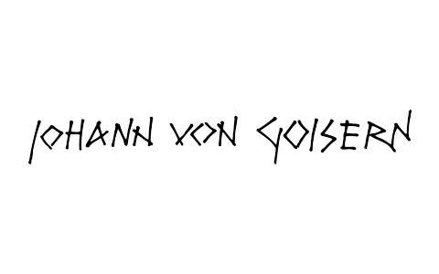 Johann von Goisern Logo