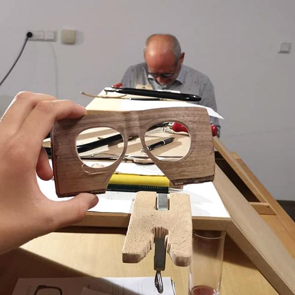"""""""Handmade"""" Holzbrillen bei Wagner Optiker #4"""