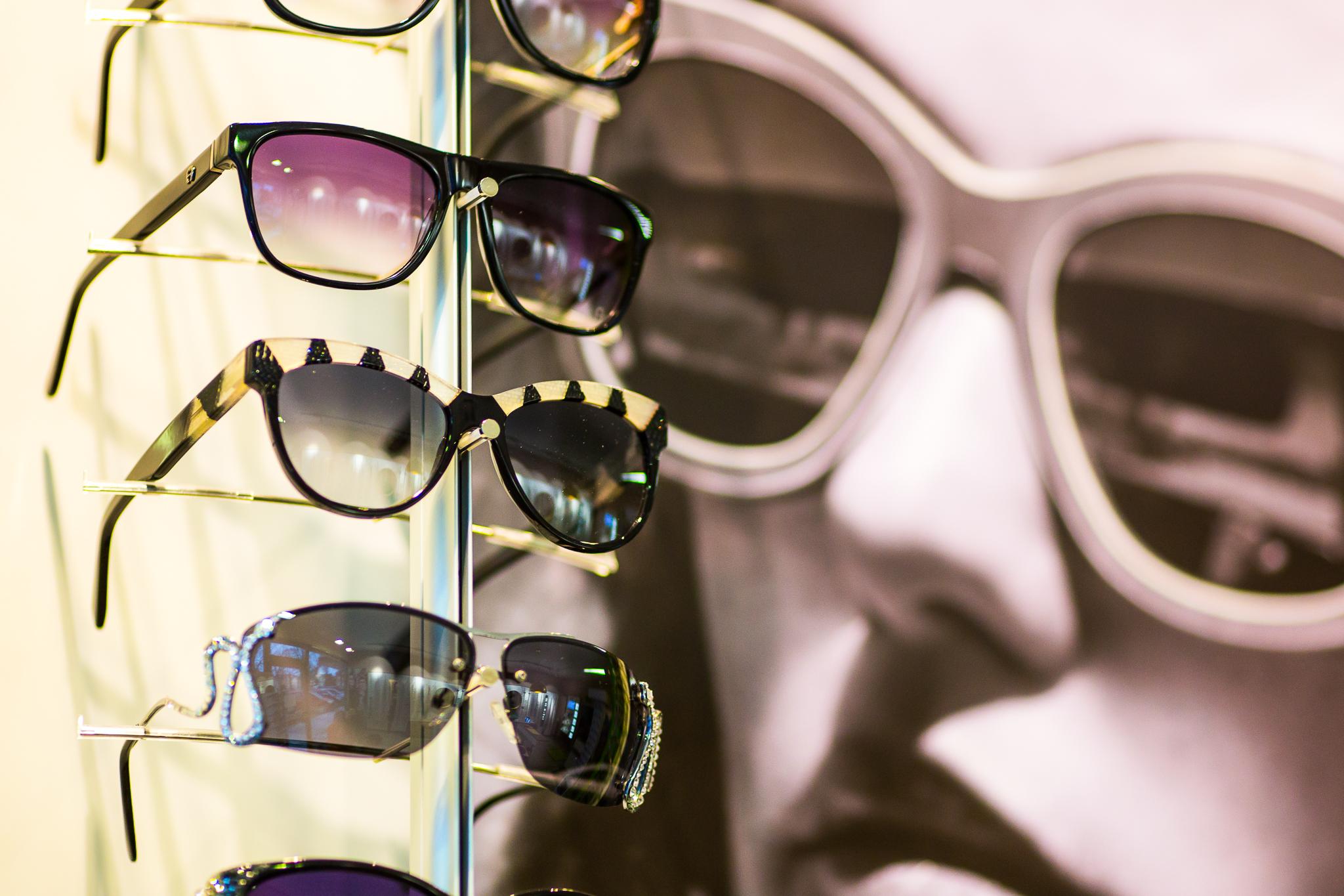 Kollektion von Sonnenbrillen
